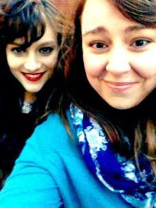 Selfie w/Aubrey Peeples