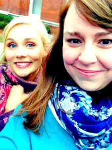 Selfie w/Clare Bowen
