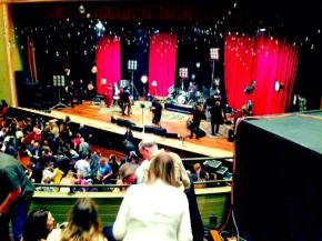 The Ryman stage.